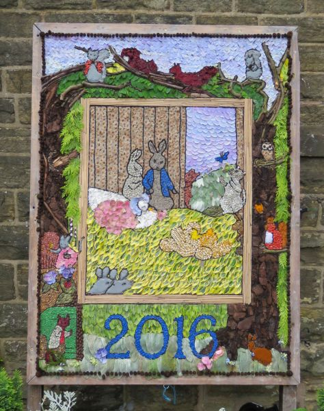 Whaley Bridge 2016 - Uniting Church Well Dressing