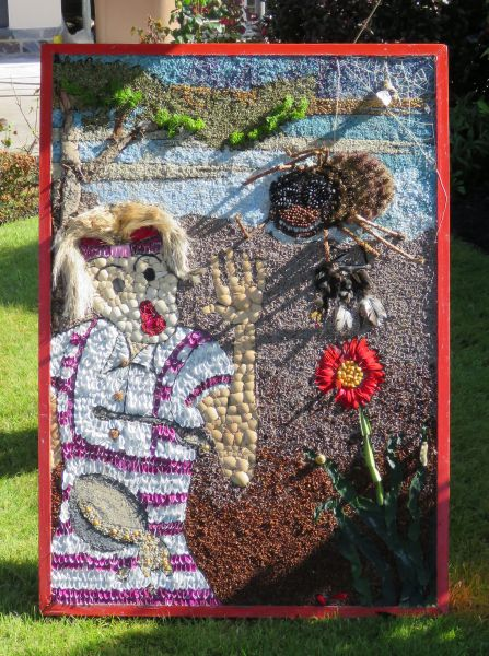 Aston-upon-Trent 2016 - The Borrowers Well Dressing