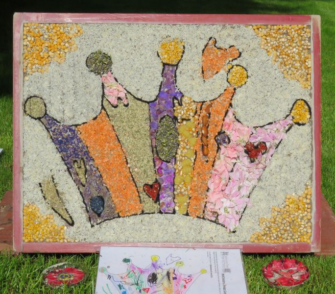 Aston-upon-Trent 2016 - Pre-School Well Dressing