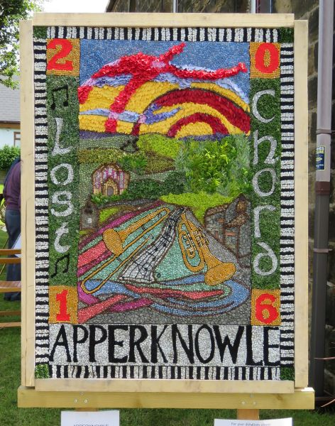 Apperknowle 2016 - Methodist Church Well Dressing