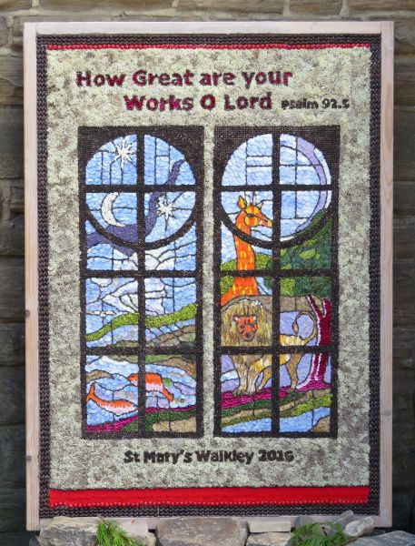 Walkley 2016 - St Mary's Church Well Dressing