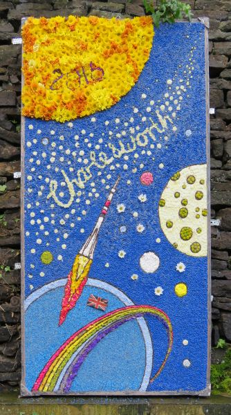 Charlesworth 2016 - Charlesworth School Well Dressing (1)