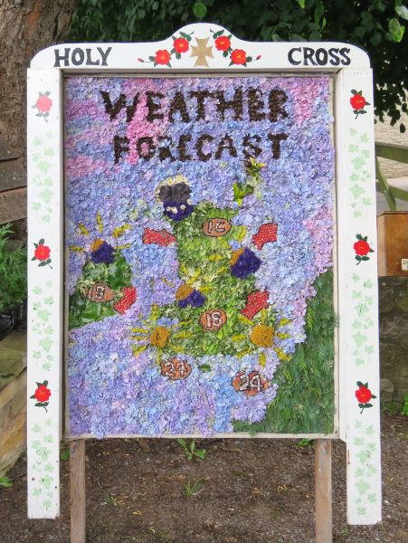 Upper Langwith 2016 - Vicarage Well Dressing