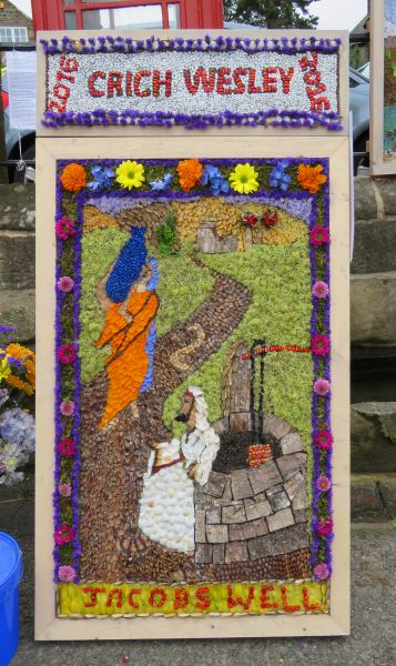 Crich 2016 - Wesleyan Chapel Well Dressing