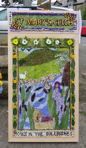 Crich 2016 - St Mary's Church Well Dressing