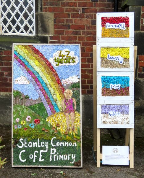 West Hallam 2016 - Stanley Common Primary School Well Dressing