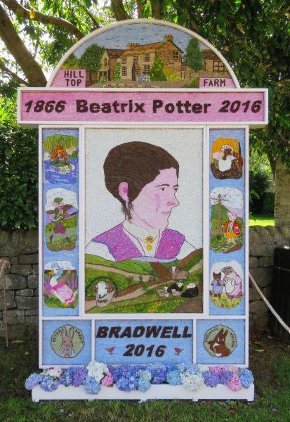 Bradwell 2016 - Church End Well Dressing