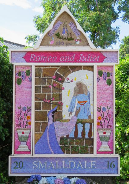 Bradwell 2016 - Smalldale Well Dressing