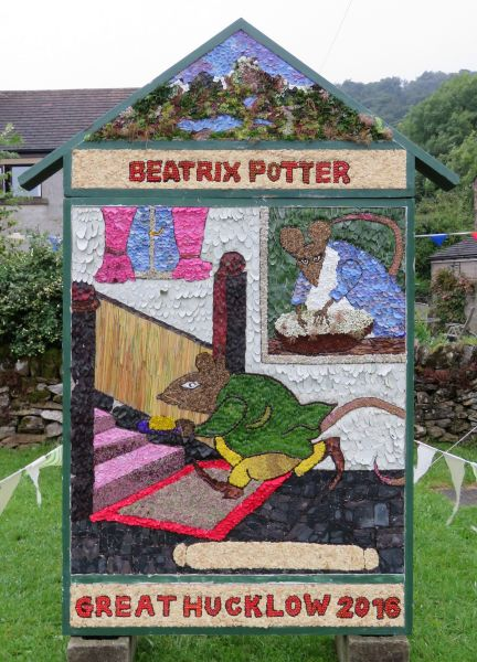Great Hucklow 2016 - Village Well Dressing