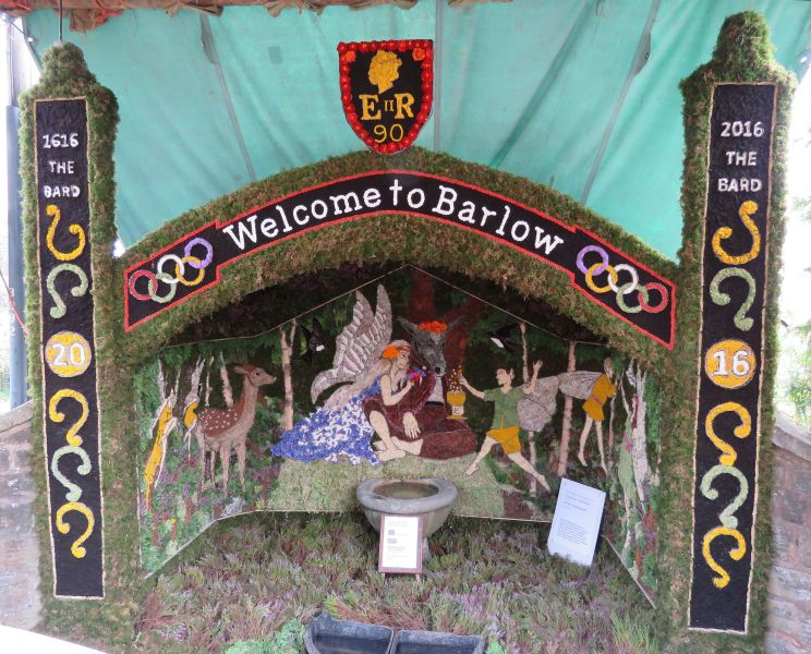 Barlow 2016 - Old Pump Well Dressing