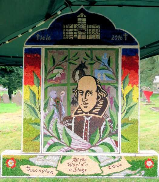Taddington 2016 - St Michael's Church Well Dressing