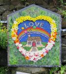 Charlesworth School Well Dressing (2)