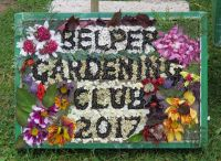 Belper Gardening Club Well Dressing (2)