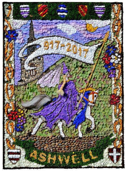 Ashwell (Herts) 2017 - Village Museum Well Dressing