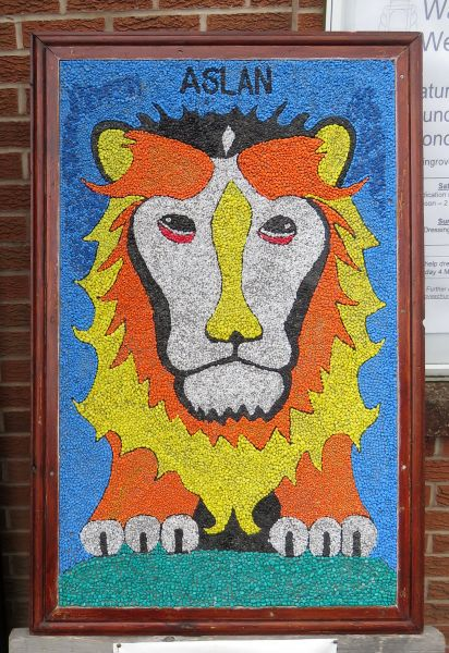 Waingroves 2017 - Waingroves Primary School Well Dressing