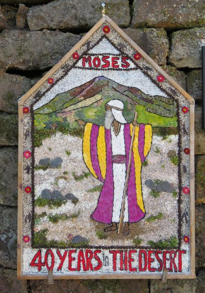 Milford 2017 - The Chevin Road Baptist Chapel Well Dressing