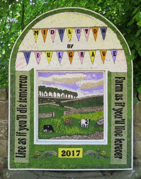 Middleton by Youlgrave 2017 - Village Well Dressing