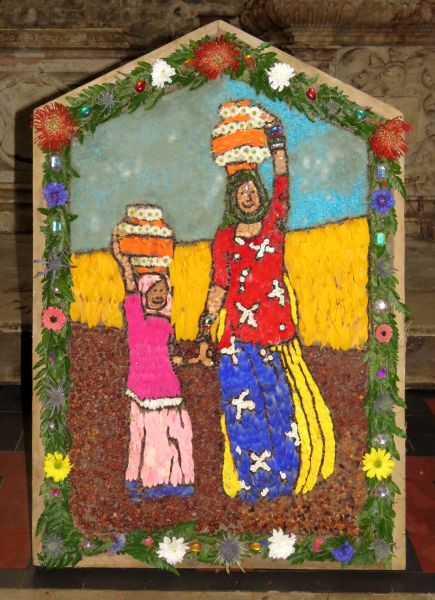 Wirksworth 2017 - Carsington & Hopton School Well Dressing