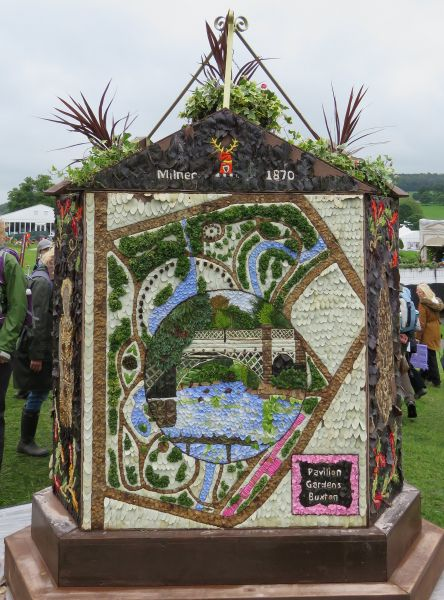 Chatsworth 2017 - Buxton Well Dressing (face 2)
