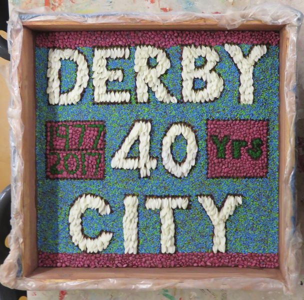 Derby 2017 - Tourist Information Centre Well Dressing