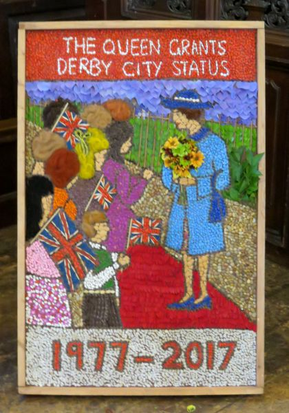 Derby 2017 - Cathedral Well Dressing