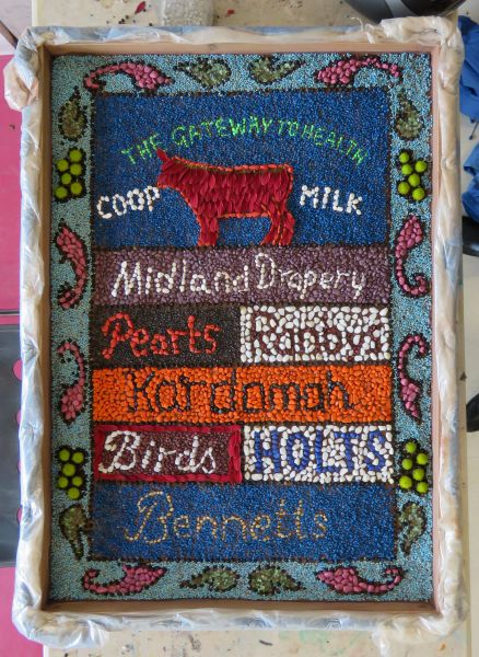 Derby 2017 - Central Library Well Dressing