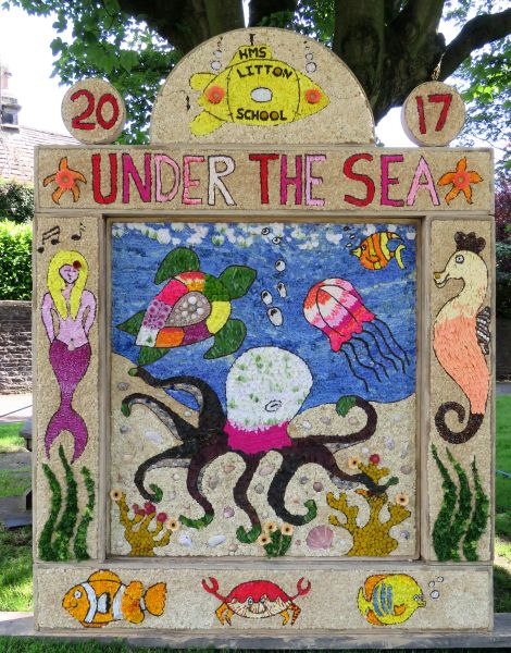 Litton 2017 - Children's Well Dressing