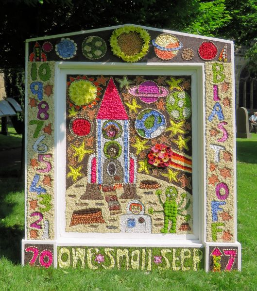 Tideswell 2017 - Bishop Pursglove School Well Dressing
