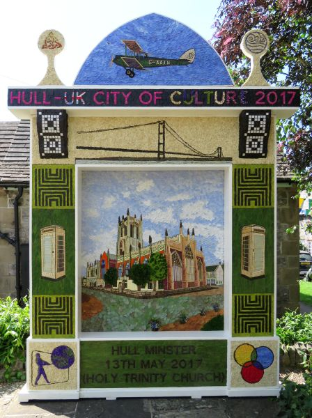 Tideswell 2017 - Village Well Dressing