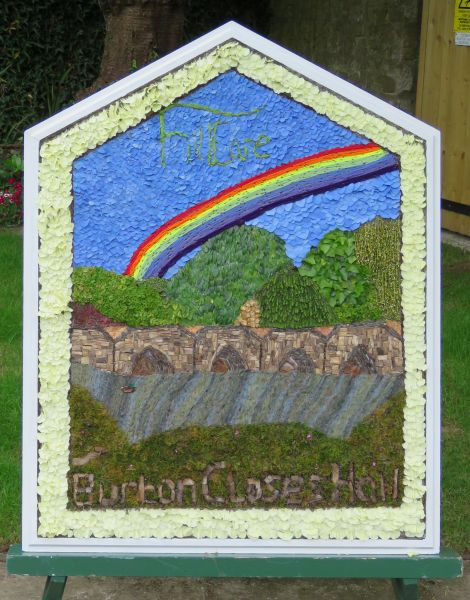 Bakewell 2017 - Burton Closes Well Dressing