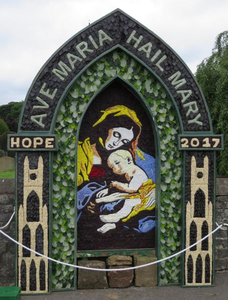 Hope 2017 - St Peter's Church Well Dressing