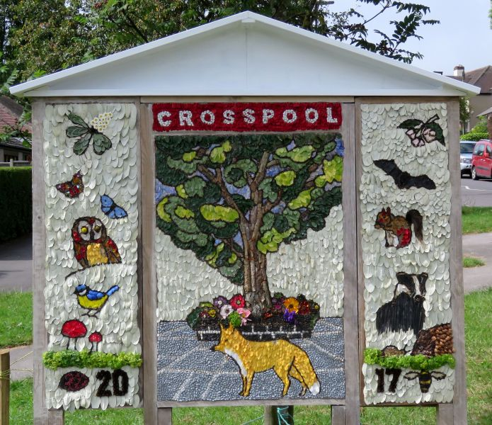 Crosspool 2017 - Sandygate Road Well Dressing
