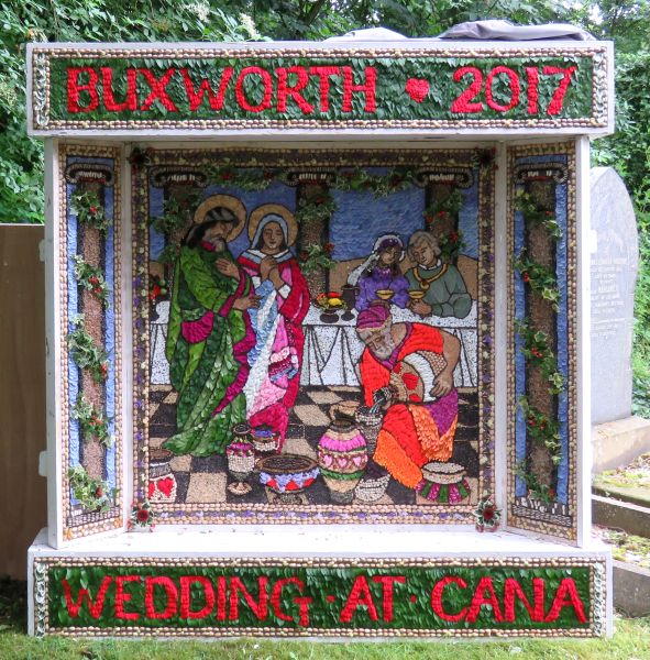 Buxworth 2017 - St James' Church Well Dressing