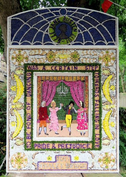 Whaley Bridge 2017 - Canal Basin Well Dressing