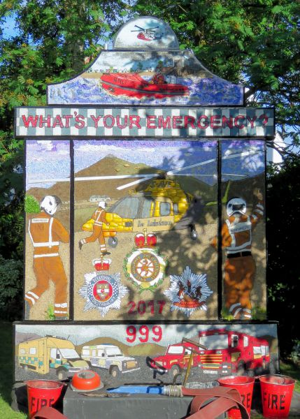 Aston-upon-Trent 2017 - Main Well Dressing