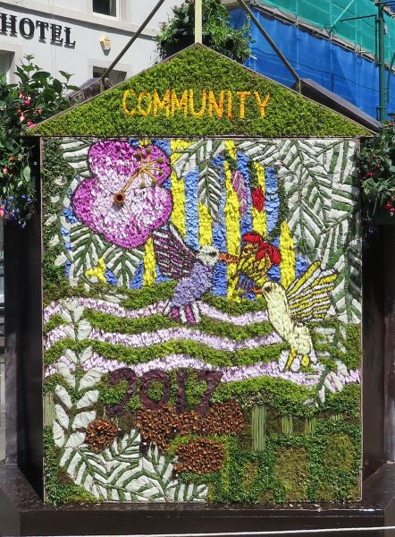 "Buxton 2017 - Spring Gardens Well Dressing (""Community"")"