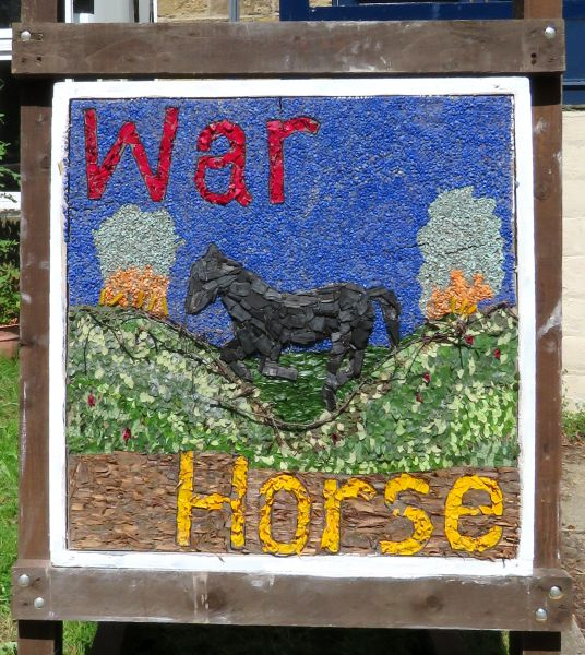 Bollington 2017 - Clarence Mill Well Dressing