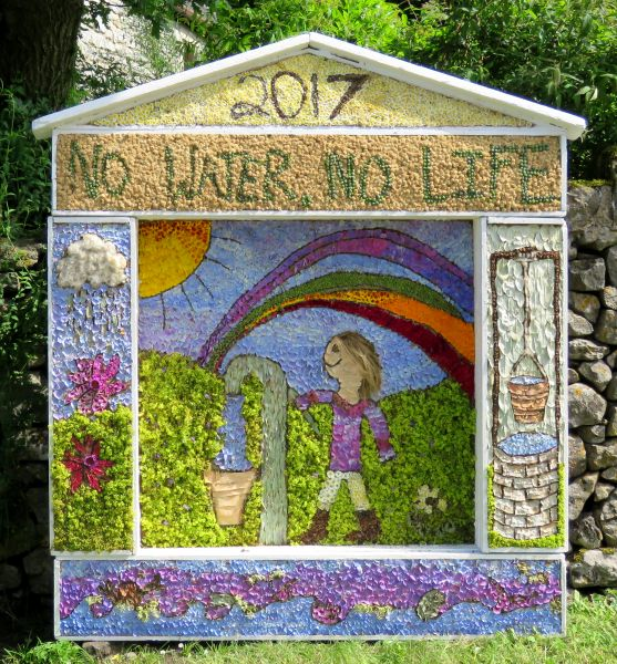 Peak Forest 2017 - Old Dam Well Dressing