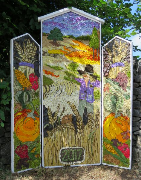 Peak Forest 2017 - Village Pump Well Dressing