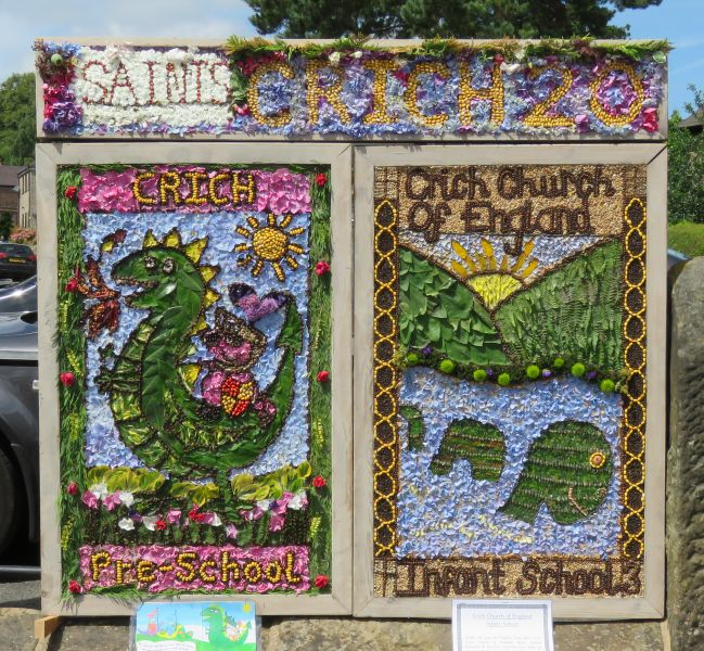 Crich 2017 - Market Place Well Dressings (1 - 2)