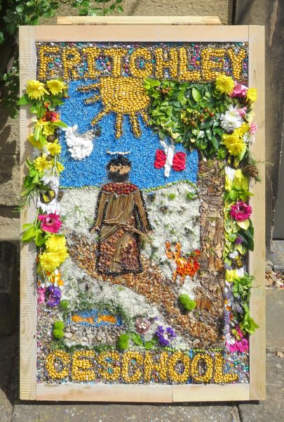 Fritchley 2017 - Congregational Chapel Well Dressing (1)