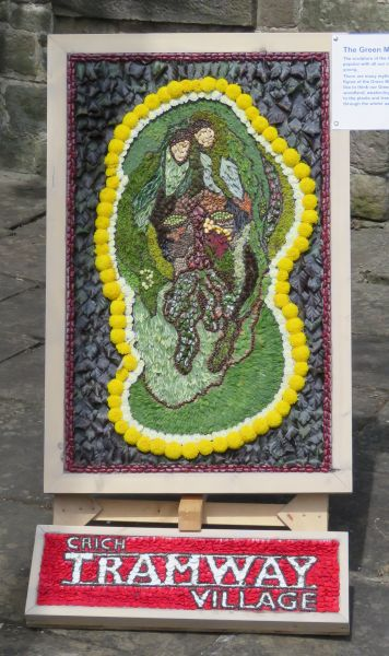 Crich 2017 - Tramway Village Well Dressing