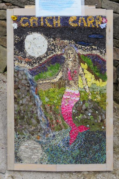 Whatstandwell 2017 - Crich Carr Primary School Well Dressing (2)