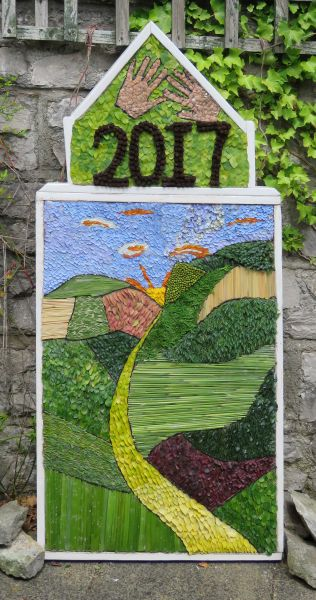 Newholme Hospital (Bakewell) 2017 - Stanton Day Unit Well Dressing
