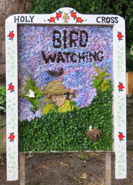 Upper Langwith 2017 - Vicarage Well Dressing