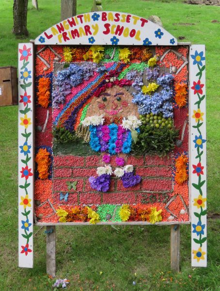 Upper Langwith 2017 - Langwith Bassett School Well Dressing