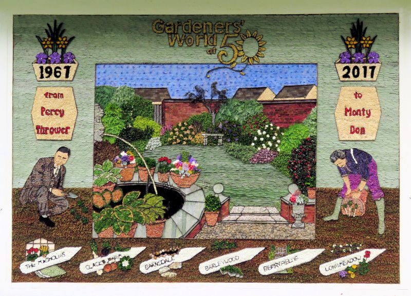 Millthorpe 2017 - Village Well Dressing
