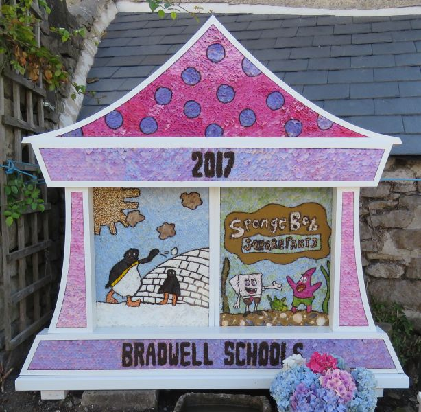 Bradwell 2017 - Children's Well Dressing