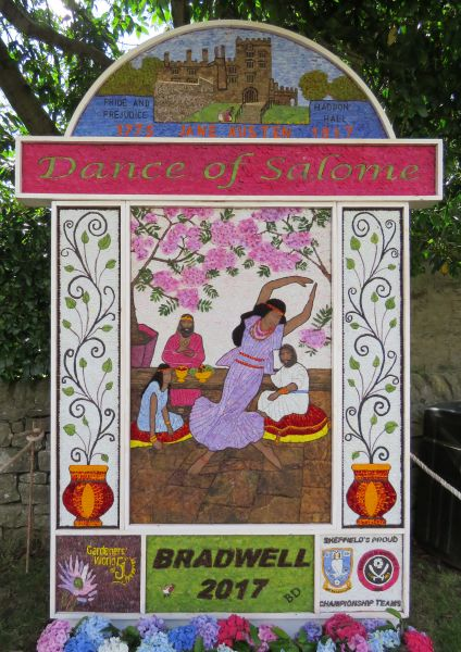 Bradwell 2017 - Church End Well Dressing