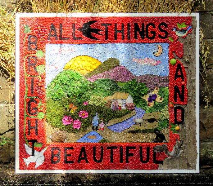 Wingerworth 2017 - Stubbing Well Dressing